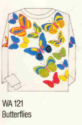 Butterflies Iron-on Transfer Pattern