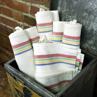 Aunt Martha's Vintage Multi Stripe Towels