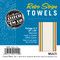 Aunt Martha's Stitch 'Em Up Retro Multi Stripe Towels Retail Pkg of 3