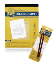 Aunt Martha's Tracing Pad and Pencils Set