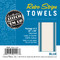 Aunt Martha's Stitch 'Em Up Retro Blue Stripe Towels Retail Pkg of 3