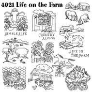 Aunt Martha's #4021 Life on the Farm