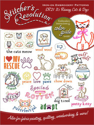SR21 Stitcher's Revolution It's Raining Cats & Dogs