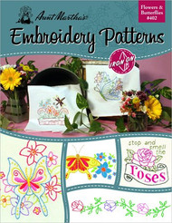 Aunt Marthas 406 Great Outdoors Embroidery Transfer Pattern Book Kit