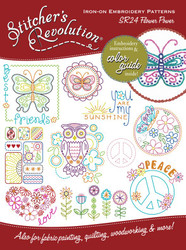SR24 Stitcher's Revolution Flower Power