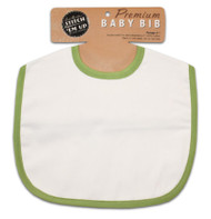 Baby Bib - Lime Green