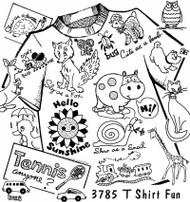 Aunt Martha's #3785 T-shirt Fun!
