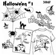 Aunt Martha's #3867 Halloween #1