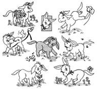 Aunt Martha's #3876 Donny the Donkey