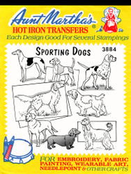 Aunt Martha's #3884 Sporting Dogs