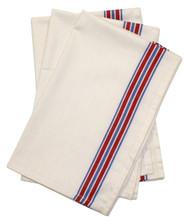Aunt Martha's Stitch 'Em Up Retro American Stripe Herringbone Towels