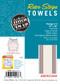 Aunt Martha's Stitch 'Em Up Retro American Stripe Herringbone Towels Retail Pkg of 3