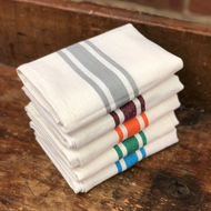 Aunt Martha's Retro Bold Twill Stripe Dishtowels Sample Variety Gift Set
