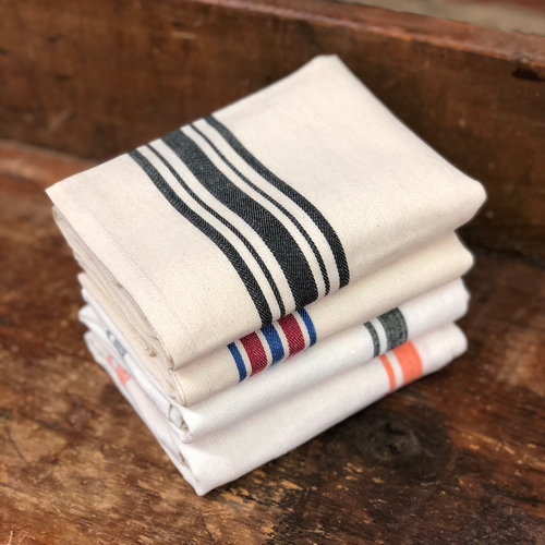 Aunt Martha's Retro Herringbone and Box Stripe Towel Variety Gift Sample Pack