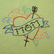 Aunt Martha's Special Edition Embroidery Transfer Pattern - Mother's Day