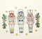 Aunt Martha's Embroidery Transfer Pattern Special Edition - Nutcrackers