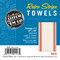 Aunt Martha's Vintage Red Stripe Towels Retail Pkg of 3