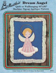 Aunt Martha's Dream Angel - Quilt or Wallhanging - Applique Pattern