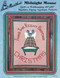 Aunt Martha's Midnight Mouse - Quilt or Wallhanging - Applique Pattern