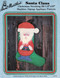 Aunt Martha's Santa Claus - Christmas Stocking - Applique Pattern