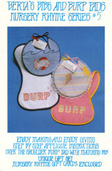 Berta's Bibs & Burp Pads - Nursery Rhyme Series 5 - Applique Pattern