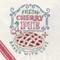 Aunt Martha's Hand Stitch Embroidery Transfer Pattern #4036 Slice of Pie