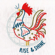 Aunt Martha's Dirty Laundry - Rise and Shine Rooster