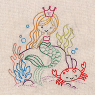 Stitcher's Revolution Embroidery Transfer Pattern Sneak Peek! - Mermaids
