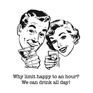 Aunt Martha's Dirty Laundry - Why Limit Happy to an Hour?