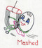 Embroidery Transfer Pattern  Aunt Martha's #3706 Egg Motifs for Tea Towels