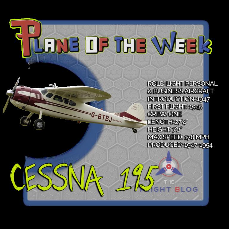 Plane of the Week: Cessna 195 Businessliner - Aviation Oil Outlet