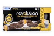 Camco 360 Revolution 20' HD Sewer Hose Kit