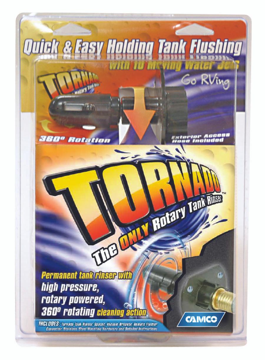 Camco Tornado Rotary Waste Holding Tank Rinser With Hose Rvsupplies Com