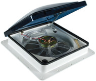 Fan-Tastic Roof Vent - Model 6000 Smoke with Rain Sensor 803350