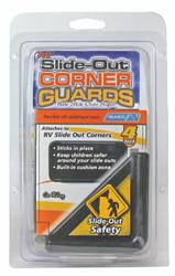 Camco RV Slide Out Corner Guards, Black