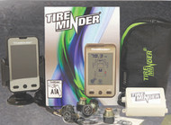 Tire Minder Tire Pressure Monitoring System w/ 4 Transmitters & Booster