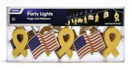 Camco Party Lights - Flags and Ribbons