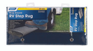 Camco Entry Step Rug, Reg Blue 18""