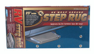 "Camco RV Entry Step Rug, XL Blue 23""W x 22""L"