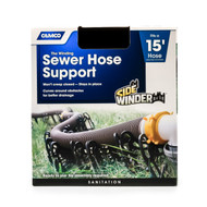 Camco Sidewinder Sewer Hose Support - 15' Plastic