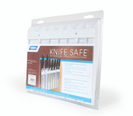 Camco Knife Safe Knife Holder - White - 9 x 11 x 5/8