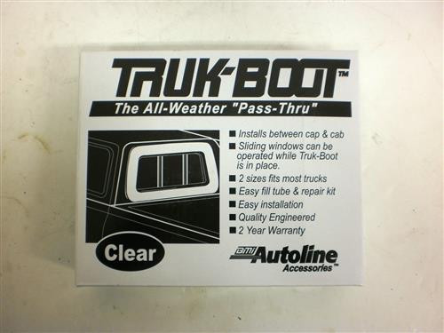 TrailFX Truk-Boot Camper to Rear Truck Window Seal 24