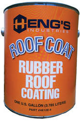 Plas-T-Cote Rubber Roof Coating - Gal
