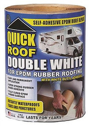 WRQR616 Quick Roof Double White Rubber Roof Repair