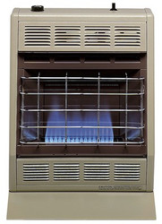 Empire BF-10 10,000 BTU LP Gas Blue Flame Thermostat Heater