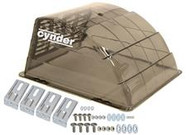 """Cynder Replacement Vent Cover Universal 14"""" Smoke"""