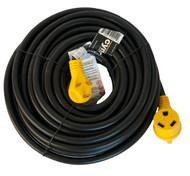 Cynder RV Yellow Power Cord w/ Handle 50'