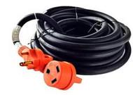 Cynder RV Orange Power Cord w/ Handle 50'