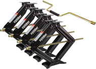 "Cynder Heavy Duty 24"" Scissor Jack 7500 lbs Set of 4"