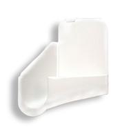 Cynder RV Polar White Gutter Spout Left Side